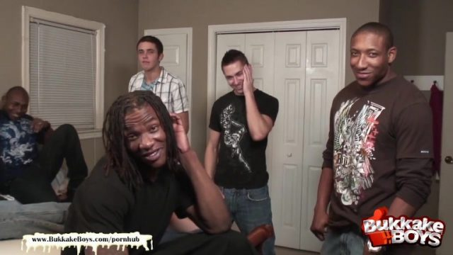 cute boy bareback gangbang party